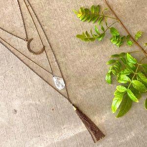 ⭐️Beautiful Multi-Strand Necklace